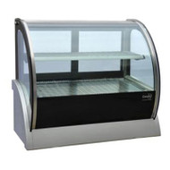 Anvil Aire DGHC0540 HOT COUNTERTOP CURVED SHOWCASE -1200mm. Weekly Rental $24.00
