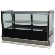 Anvil Aire DGV0540 COLD SQUARE SHOWCASE -1200mm. Weekly Rental $28.00