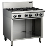 Cobra C9D 6 BURNER WITH OPEN CABINET. Weekly Rental $34.00