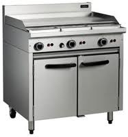 Cobra CR9A GAS RANGE STATIC OVEN & GRIDDLE. Weekly Rental $47.00
