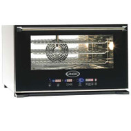 UNOX - XEVC-0311-E1R. COMBI OVEN 3 PHASE. 3 X GN 1/1 TRAYS. Weekly Rental $57.00