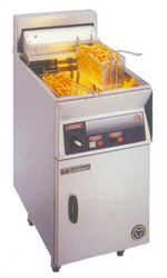 GOLDSTEIN - FRE-24DL - ELECTRIC EXTRA WIDE DEEP FRYER. 3 S/S BASKETS. 45litre. Weekly Rental $59.00