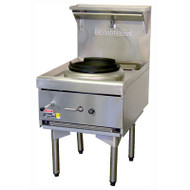 Goldstein - CWA1 - AIR COOLED SINGLE GAS WOK  WITH FLAME FAILURE PROTECTION. Weekly Rental $38.00