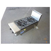 Goldstein PFB-12 - 2 GAS BURNER BOILING TOP. Weekly Rental $21.00