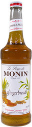 MONIN GINGERBREAD SYRUP x 6