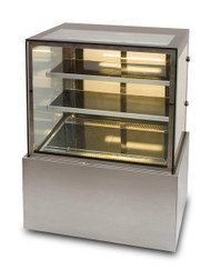 Anvil Aire DHV0730 SQUARE GLASS HOT FOOD DISPLAY 900mm. Weekly Rental $26.00