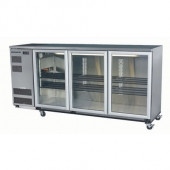 Skope BB580 3SW BACKBAR CHILLER 3 DOOR ( WHITE ) 580 LITRES. Weekly Rental $60.00