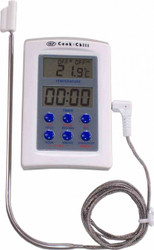 FOOD THERMOMETER WITH TIMER