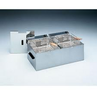 Roller Grill - RF5DS - DOUBLE PAN DEEP FRYER -2 X 5litre Pans - 2 X 10 AMP. Weekly Rental $10.00
