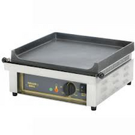 PSF 600 E Roller Grill 600 mm  FLAT CAST IRON PLATE - 15 AMP. Weekly Rental $12.00