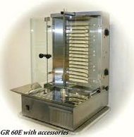 Roller Grill GR60E GYROS GRILL - 3 PHASE. Weekly Rental $27.00