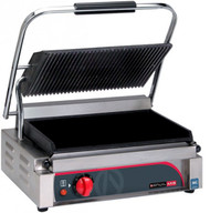 Anvil Axis TSS2000 SINGLE PANINI PRESS -RIBBED TOP/FLAT BOTTOM PLATE. Weekly Rental $5.00