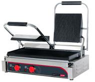 Anvil TSS3001 15 AMP DOUBLE PANINI PRESS -FLAT TOP & BOTTOM PLATES. Weekly Rental $8.00