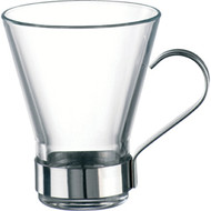 YPSILON TEA GLASS WITH HANDLE -320ml x6