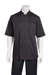 Canberra Short Sleeve Basic Chef Coat