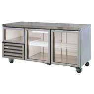 Anvil Aire UBG6180 BACKBAR GLASS DOORS 1800mm -535Litre. Weekly Rental $36.00