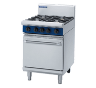 Blue Seal G504B GAS 600 MM GRIDDLE WITH STATIC OVEN. Weekly Rental $59.00
