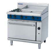 Blue Seal G506B GAS RANGE STATIC OVEN 2 BURNER + 600mm GRIDDLE. Weekly Rental $73.00