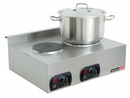 Anvil Axis STA0002 BOILING TOP -DOUBLE - 3.2 KW - 15 AMP. Weekly Rental $4.00