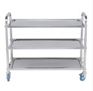 TRS0003 - S/S SERVING TROLLEY