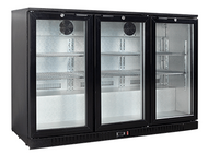 Exquisite UBC330 BACK BAR 3 DOOR CHILLER 330litre. Weekly Rental $11.00