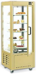 VT550S - ROLLER GRILL MOBILE GLASS TURN TABLE CAKE DISPLAY. Weekly Rental $52.00