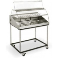 VHC1000 - ROLLER GRILL HOT DISPLAY. Weekly Rental $32.00