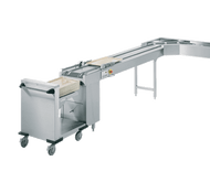RIEBER - GA-3. 3000mm Clearing Belt Conveyor. Weekly Rental $222.00