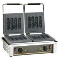 ROLLER GRILL - GED80 - DOUBLE CAST IRON PLATES WAFFLE MACHINE. Weekly Rental $28.00