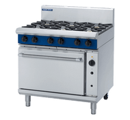 Blue Seal Evolution Series G56D - 900mm Gas Range Convection Oven. Weekly Rental $99.00