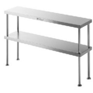 SIMPLY STAINLESS - SS13.1800- DOUBLE BENCH OVER-SHELF. Weekly Rental $7.00