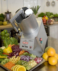 Hallde RG-200 Vegetable Preparation Machine. Weekly Rental $38.00