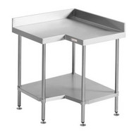 SIMPLY STAINLESS - SS04.0900. Corner Bench. Weekly Rental $9.00
