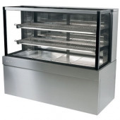 SKOPE - FDM1500 - S/STEEL REFRIGERATED DISPLAY CABINET. Weekly Rental $84.00
