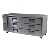 SKOPE - CENTAUR - BC180-CS-6RROSE-E - 6 DRAWER REFRIGERATED CABINET. Weekly Rental $57.00