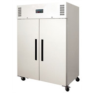POLAR - DL898 - TWO DOOR UPRIGHT FRIDGE 1200 LITRE - WHITE. Weekly Rental $22.00