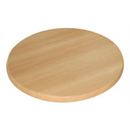 BOLERO - GG642 -  600mm Round Table Top Beech Effect