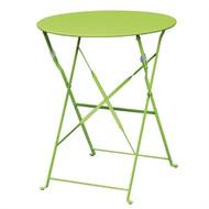 BOLERO - GH557 - Green Pavement Style Steel Table 595mm