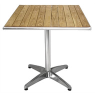 BOLERO - U430 - Ash Top Table Square 600mm