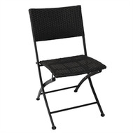 BOLERO - GL303 - PE Wicker Folding Chair Set (Pack of 2)