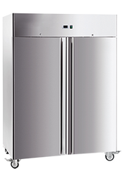 EXQUISITE - GSC1410H - TWO DOOR UPRIGHT REFRIGERATOR. Weekly Rental $35.00