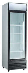 EXQUISITE - DC400P - GLASS DOOR UPRIGHT CHILLER. Weekly Rental $14.00