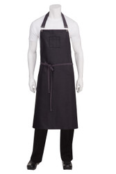 Boulder Purple Large Bib Apron