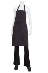 Rockford Steel Grey Bib Apron