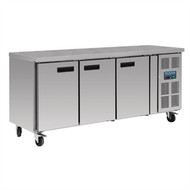 Polar - G600 - Three Door Counter Freezer 417 Ltr. Weekly Rental $26.00