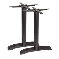 BOLERO - DN642 - Cast Iron Twin Leg Table Base (Pack of 2)