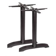BOLERO - DN642 - Cast Iron Twin Leg Table Base (Pack of 2)