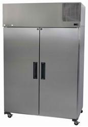SKOPE PEGASUS - PG1300VC STAINLESS STEEL 2 DOOR UPRIGHT FRIDGE. Weekly Rental $73.00