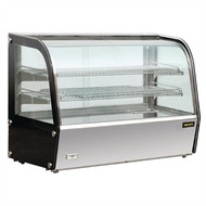 Apuro GC877 Heated Countertop Display Cabinet 160Ltr. Weekly Rental $11.00