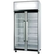 Skope - SK1000 Two Glass Door Chiller - White. Weekly Rental $48.00